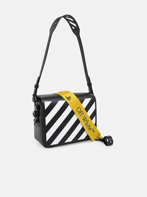 OFF WHITE - TRACOLLA DIAG FLAP NERA