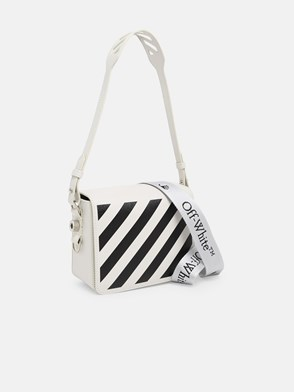 OFF WHITE - TRACOLLA DIAG FLAP BIANCA