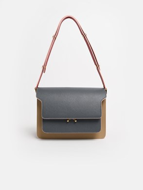 MARNI - TRACOLLA TRUNK MULTIC.ANTRACIT
