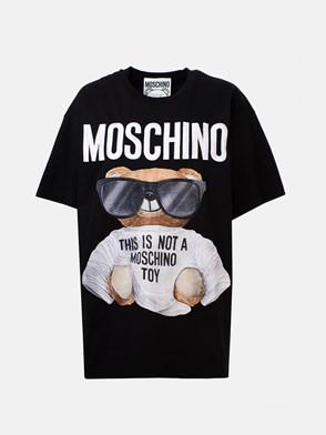 MOSCHINO - T-SHIRT OVER ORSO NERA