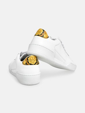 VERSACE - SNEAKERS ILUS TALL.ORO BIANCHE