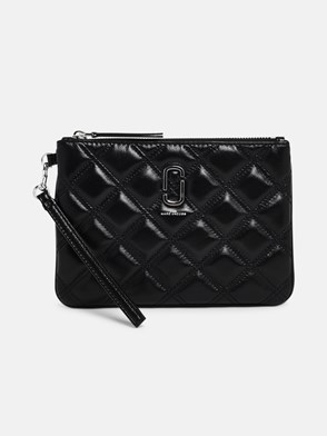 THE MARC JACOBS - POCHETTE SOFTSHOT QUILTED NERA