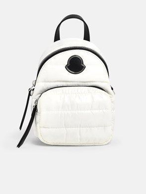 MONCLER - WHITE MINI KILIA CROSS-BODY BAG