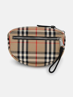 BURBERRY - BEIGE ML CANNON BUV FANNY PACK