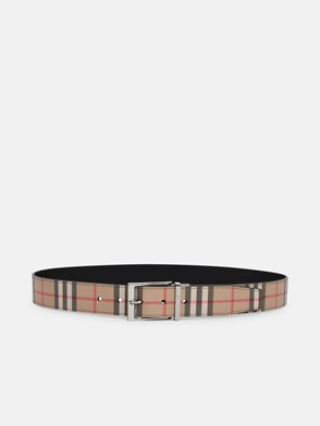 BURBERRY - CINTURA MB LOUIS CHECK