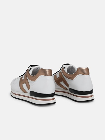SNEAKERS H222 H ORO BIANCHE