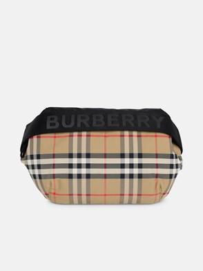 BURBERRY - MARSUPIO MD SONNY CHECK