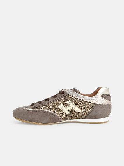 hogan SNEAKERS OLYMPIA BEIGE available on www.lungolivignofashion ...
