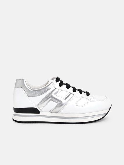hogan SNEAKERS H222 H ARGENT BIANCHE available on www ...