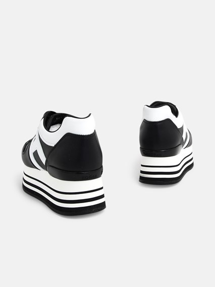 SNEAKERS H283 H BIANCA NERE