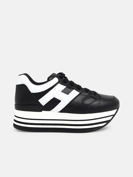 hogan SNEAKERS H283 H BIANCA NERE available on www ...