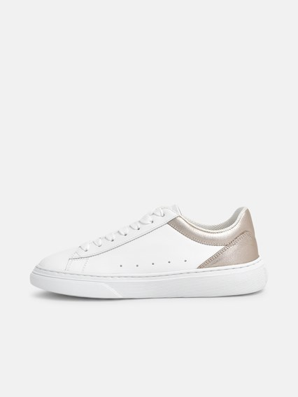 hogan SNEAKERS H365 ORO BIANCHE available on www ...
