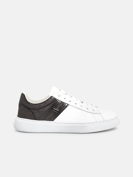 hogan SNEAKERS H365 NERE BIANCHE available on www ...