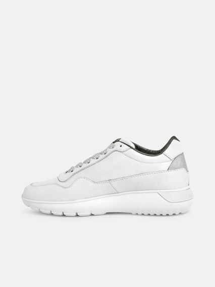 SNEAKERS INT. 3 ARGENTO BIANCH