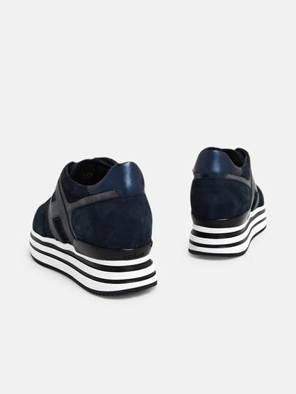 hogan SNEAKERS H483 BLU available on www.lungolivignofashion.com ...