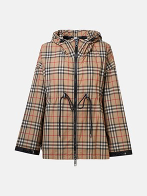 BURBERRY - CHECK BACTON JACKET