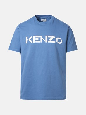 KENZO - T-SHIRT LOGO BLU