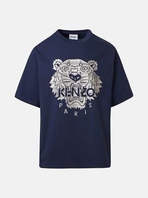 KENZO - T-SHIRT TIGRE BLU