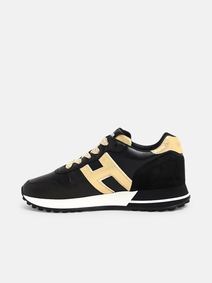 SNEAKERS H383 H ORO NERE