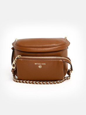 MICHAEL MICHAEL KORS - BROWN SLATER SLING BAG