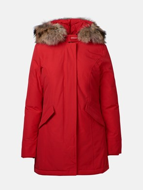 WOOLRICH - PARKA ARCTIC FR ROSSO