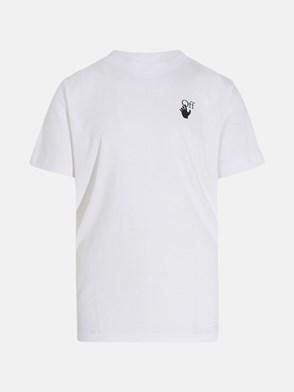 OFF WHITE - T-SHIRT PASCAL ARROW BIANCA