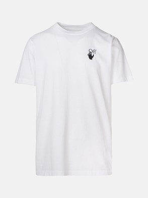 OFF WHITE - T-SHIRT PASCAL ARROW BIANCA