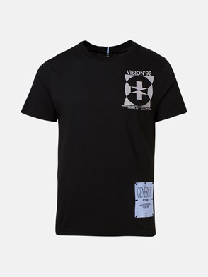 McQ BY ALEXANDER MCQUEEN - T-SHIRT PATCH NERA