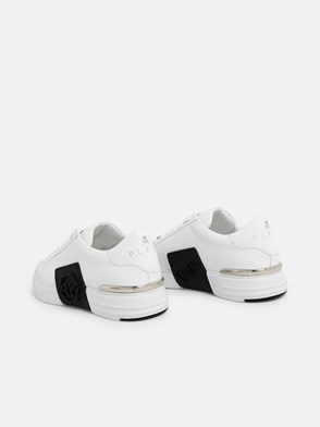PHILIPP PLEIN - SNEAKERS PHANTOM KICKS BIANCHE