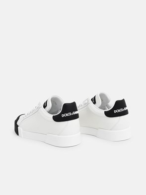 DOLCE & GABBANA - SNEAKERS NERE/BIANCHE