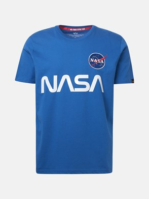 ALPHA INDUSTRIES - T-SHIRT NASA REFLECTIVE BLUETT