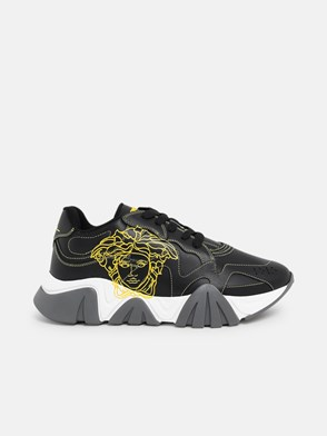 VERSACE - SNEAKERS SQUALO NERE