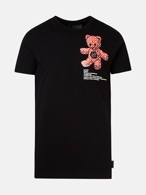 PHILIPP PLEIN - T-SHIRT TEDDY NERA