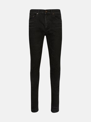 SAINT LAURENT - JEANS SKINNY NERO
