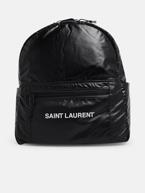 SAINT LAURENT - ZAINO NUXX LOGO NERO