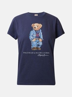 POLO RALPH LAUREN - T-SHIRT BEAR BLU