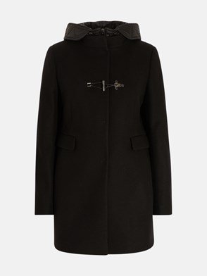 FAY - CAPPOTTO TOGGLE NERO