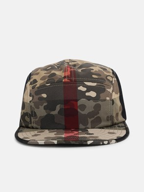 BURBERRY - CAPPELLINO CAMP CAMOUFLAGE