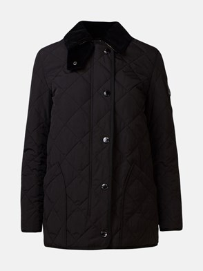 BURBERRY - BLACK COSTWOLD JACKET