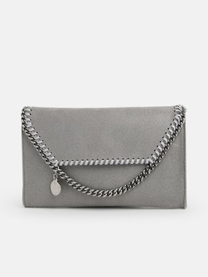 STELLA McCARTNEY - TRACOLLA CROSSB. SHAGGY GRIGIA