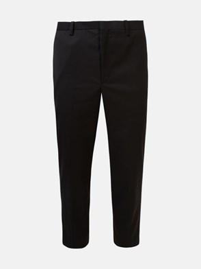NEIL BARRETT - BLACK GABARDINE PANTS