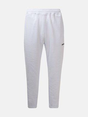 MSGM - WHITE JOGGING PANTS
