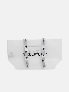 OFF WHITE - BORSA SMALL COMMERCIAL BIANCA