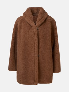 MAX MARA - CAPPOTTO TEDDY2 MARRONE