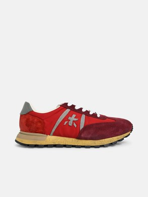 PREMIATA - SNEAKERS JOHN LOW ROSSE