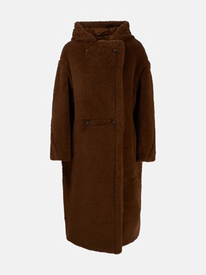 MAX MARA - CAPPOTTO TEDDY12 MARRONE