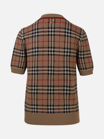 BURBERRY POLO CHATTERTON CHECK - COD. 8017141              A7026