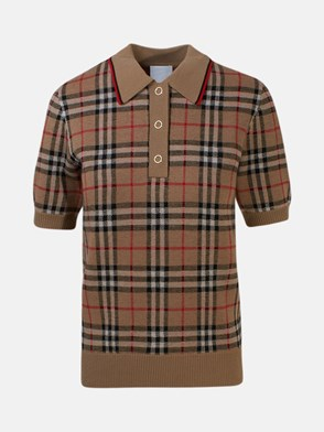 BURBERRY - POLO CHATTERTON CHECK