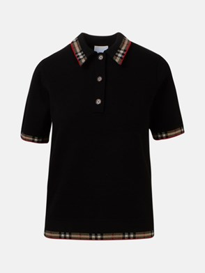 BURBERRY - POLO LOLA NERA