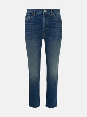 MOTHER - JEANS THE SCRAPPER ANKLE BLU